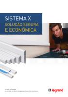 48ead3f51c A linha de canaletas de distribuição da Legrand Sistema X é ideal para a  modernização de ambientes residenciais e pequenas empresas